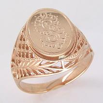 Печатка из золота. Артикул